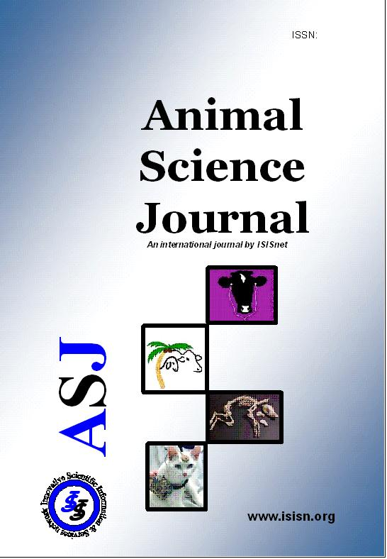 animal science scholarly articles